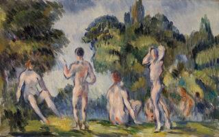 Banhistas - Paul Cézanne